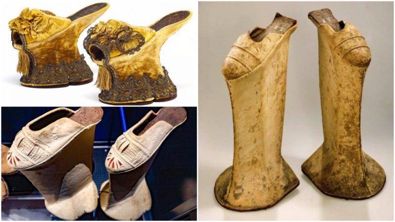 Những mẫu giày Platform của Thế kỷ 15, 16, 17