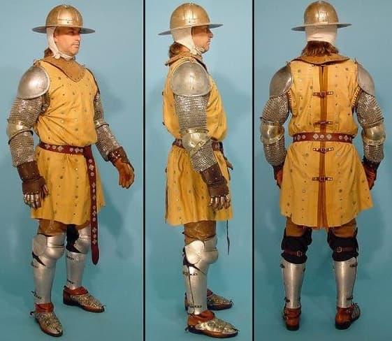 Áo giáp lính thời Trung Cổ
