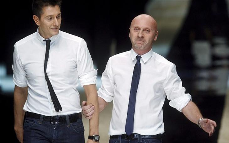 Stefano Gabbana và Domenico Dolce đồng sáng lập nhà mốt xa xỉ Dolce & Gabbana.