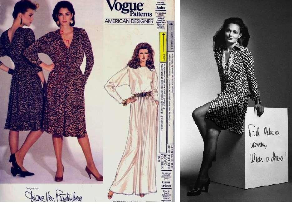 """""""Nữ hoàng váy quấn"""" Diane von Furstenberg."""