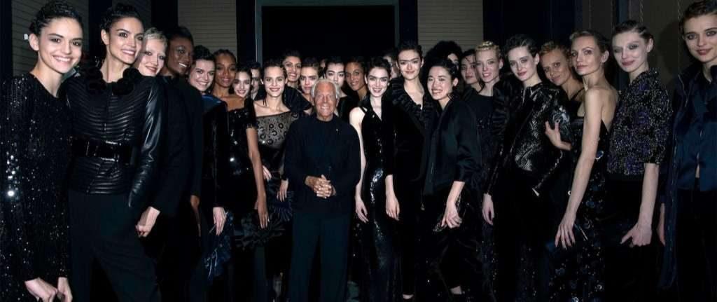 Giorgio Armani nổi tiếng với cách tiếp cận thời trang phi giới tính