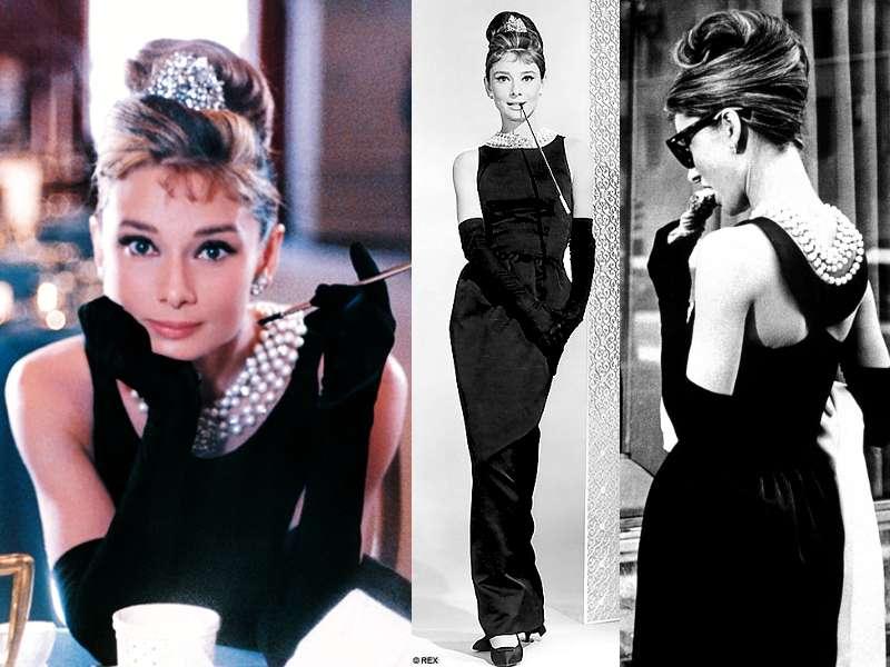 """Thiết kế bởi Hubert de Givenchy, chiếc váy đen được Audrey Hepburn mặc trong """"Bữa sáng ở Tiffany's"""" là một trong những sáng tạo thanh lịch nhất thế kỷ"""