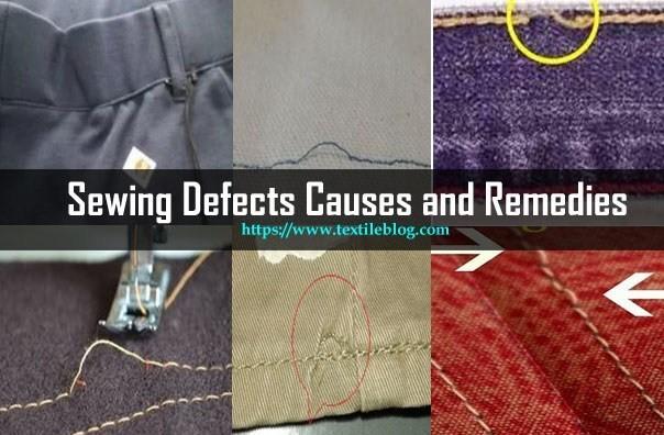 Một số lỗi thường gặp trong sản xuất hàng may mặc