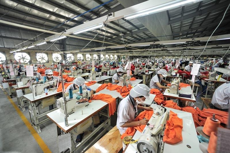 Kim ngạch xuất khẩu dệt may, da giày Việt Nam tăng trong quý I/2021